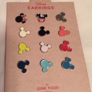 New Mickey Mouse heads earrings by junk food